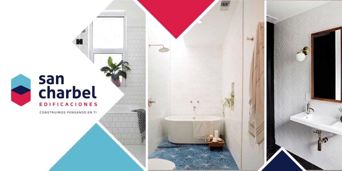 04db947f4d74 Por qué diseñar un baño funcional en un departamento | San Charbel ...