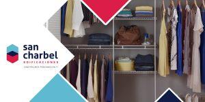 organizar closets departamento nuevo
